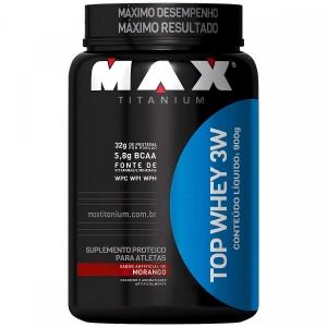 TOP 3WHEY MAX TITANIUM 900G