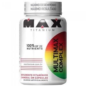 MULTIMAX COMPLEX 90 CAPSULAS MAX TITANIUM