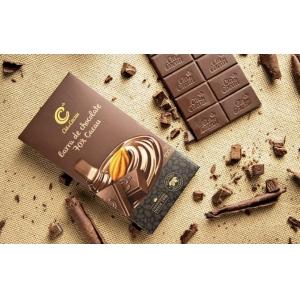 CHOCOLATE TABLET 70% CACAU CIA DO CACAU