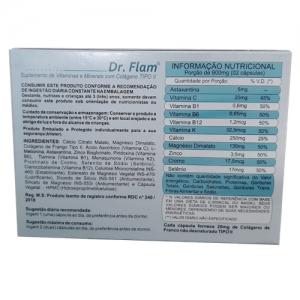 DR. FLAM COM COLAGENO II 40 CAPS INOVARE NUTRITION