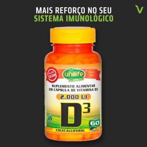 VITAMINA D3 (COLECALCIFEROL) 60 CAPS
