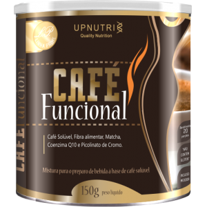 CAFÉ FUNCIONAL SOLÚVEL LATA 150G UPNUTRI
