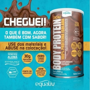 EQUALIV BODY PROTEIN 100% ISOLADA
